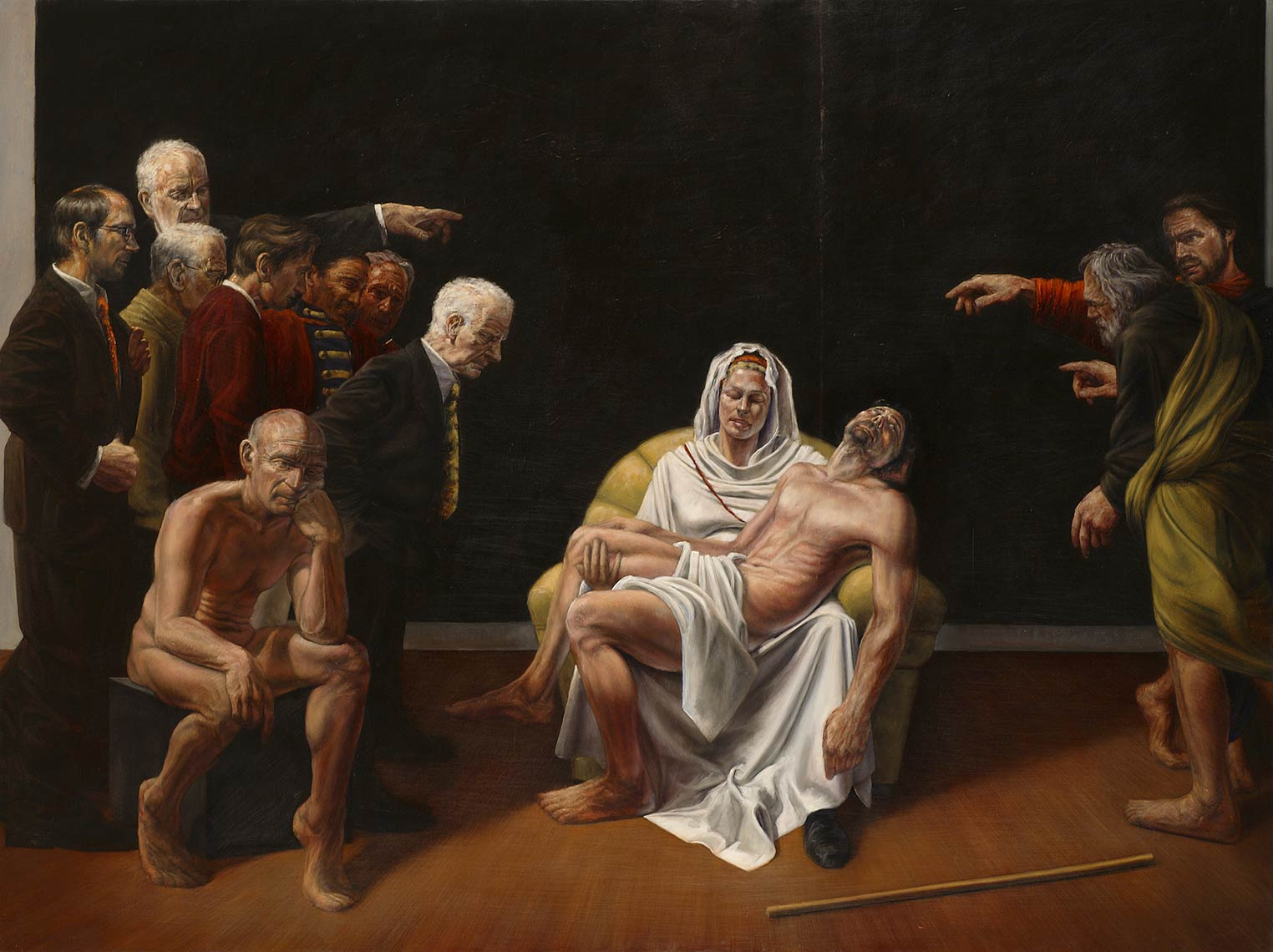 Apologia-Historia-Europa_2009_oil-on-canvas_183x244_72x96_Available