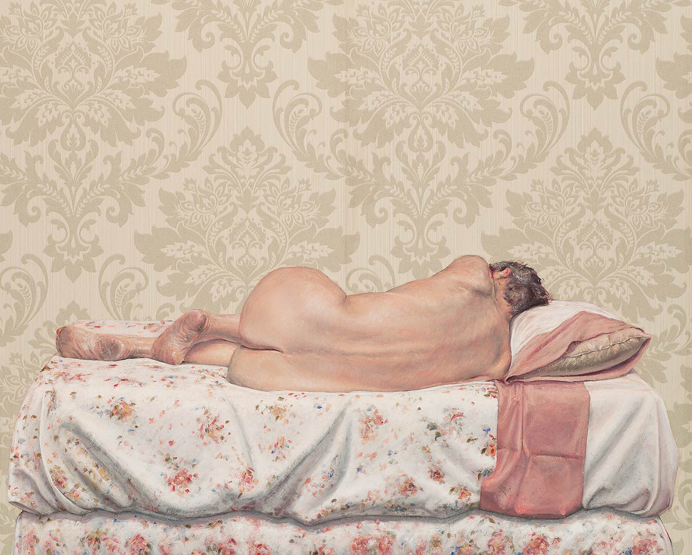 Sleepwatcher-After-it-End-II_2012_oil-on-wallpaper_84x105_33x42_Available
