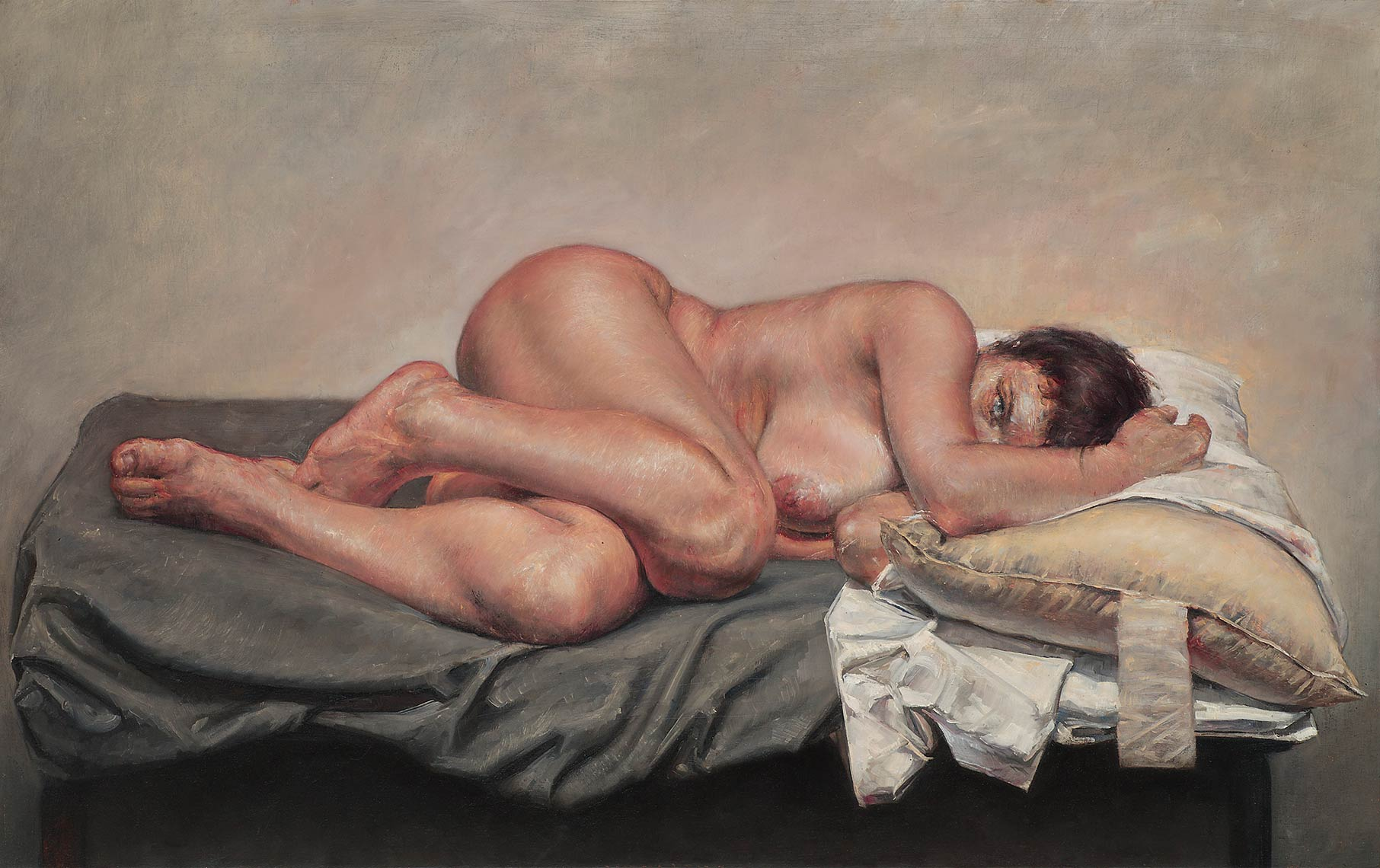 Sleepwatcher-at-the-Beginning-I_2012_oil-on-canvas_72x114_28x45_Private-Collection
