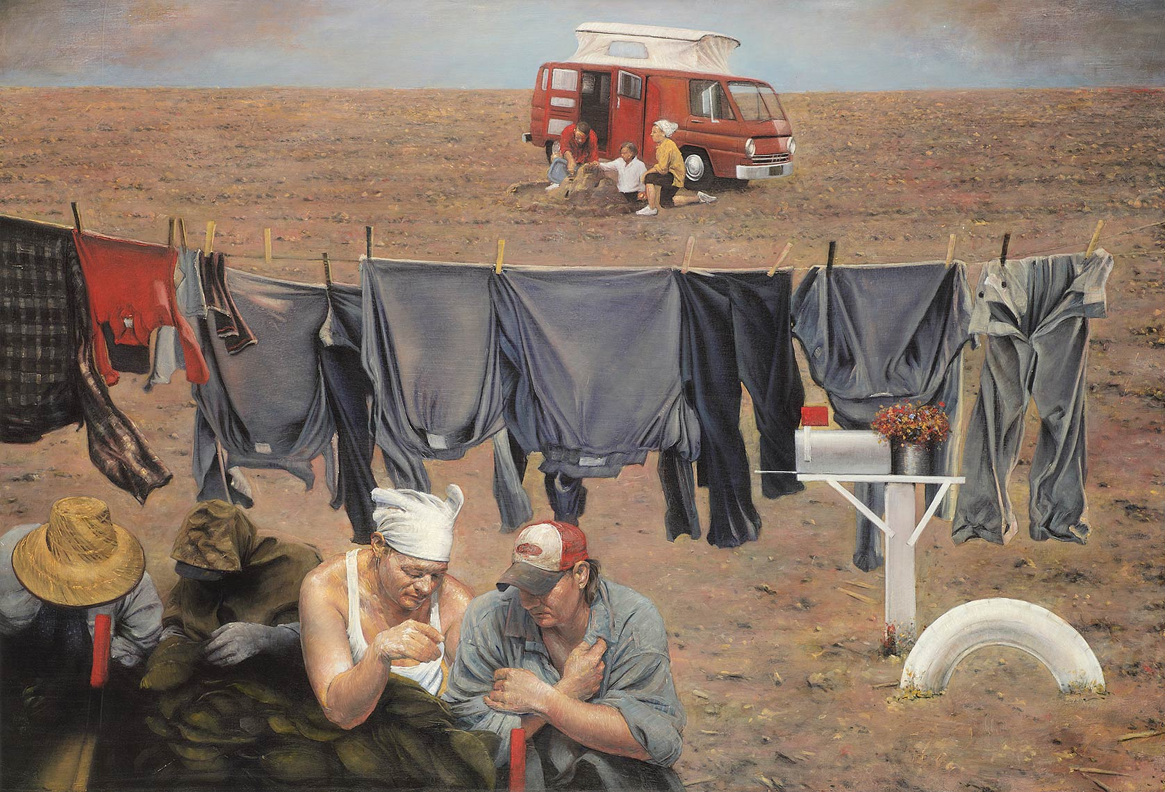 The-Best-of-Life-May-Nineteenth-The-Migrants_2013_oil-on-canvas_119x175_46.5x68.5_Available