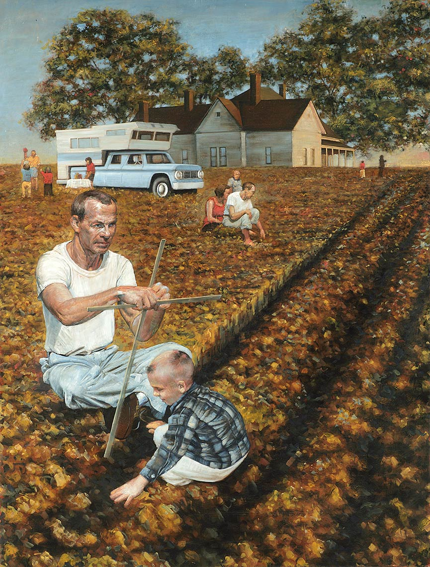 The-Best-of-Life-May-Nineteenth-The-Picnic_2015_oil-on-canvas_145x111_57x43.5_Available